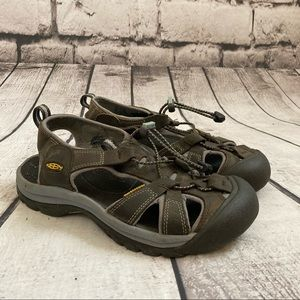 Keen Venice Leather Sports Sandals Brown Size 8.5
